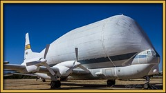 Super Guppy (Sugardxn) Tags: arizona southwest museum photoshop canon airplane flying frames tucson space military air transport flight az cargo nasa frame guppy bloat pimaairandspacemuseum superguppy stratocruiser picswithframes b377sg canoneos7d canon7d sugardxn garypentin