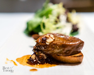 Seared Quebec foie gras