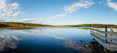 Turtle Pond Panoramic (TS-Colors) Tags: nikon d610 panoramic panorama landscape waterscape sky clouds water turtlepond pond lake newhampshirenhlee filters leefilters usa america tscolors