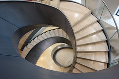 """Wellcome Collection's staircase"" London, UK (davidgutierrez.co.uk) Tags: city uk greatbritain travel england urban abstract color colour london art colors beautiful museum architecture spiral photography nikon europe cityscape colours photographer unitedkingdom britain steel interior capital structure staircase londres londra euston touristattraction spiralstaircase centrallondon ロンドン londyn ultrawideangle 伦敦 런던 лондон d810 wellcomecollection nikond810 1424mm davidgutierrez londonphotographer afsnikkor1424mmf28ged davidgutierrezphotography"