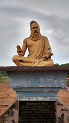 Thiruvalluvar (Hoodoo Doctor) Tags: statue poet brass tamil thiruvalluvar