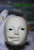 WIP Abigaelle (Mamzelle Follow) Tags: face abjd harlan disfigured abigaelle bjdmod eyesmodification larmoirededandan