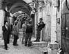 Old City Alley Patrol (Packing-Light) Tags: night israel alley palestine westbank military muslim jerusalem religion middleeast corridor christian jewish conflict guns israeli patrol oldcity idf levant palestinian