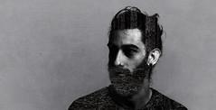 DobleExp (Rubn de la Fuente.) Tags: portrait man beard exposure retrato double hombre barba doble exposicin