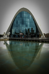e_17 (Franz-Rudolph) Tags: world blue sea fish water valencia les architecture de aquarium la spain meer wasser under arts el architektur blau spanien refection ciutat fische cincies unterwasserwelt oceanogrfic franzrudolph spiegelung