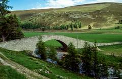 Small Bridge # GB_Schottland_1990 # Nikon F501 Colorslide - 1990 (irisisopen *f/8* of the experience) Tags: film analog scotland reisen nikon europa f farbe schottland f501 diafilm irisisopen