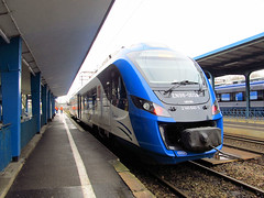 Newag Impuls EN98-003, Przewozy Regionalne (transport131) Tags: train pr olsztyn impuls regio pocig newag en98