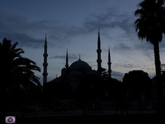 Blue Mosque (Sultan Ahmet) at dusk (alison ryde - back in town for now) Tags: blue autumn turkey asia dusk capital turkiye istanbul mosque september bluehour bluemosque ottomans sultanahmet phototrip constantinople turchia turkei 2015 capitalcity emilywilson asianturkey johngreengo olympusem1