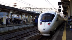 Kamome Express Train (yoshi_2012) Tags: bw olympus panasonic omd かもめ 長崎 m43 em10 mft jr九州 microfourthirds leicadg25mmf14