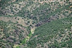 Black Canyon Schist (Paleoproterozoic, 1.759 Ga; Monument Canyon, Colorado National Monument, Colorado, USA) 1 (James St. John) Tags: black monument point colorado canyon formation national artists schist precambrian paleoproterozoic proterozoic