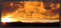 As the Clouds roll in & the Sun sets. (Douglas H Wood) Tags: christmas sunset arizona snow williams colder gcrr