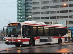 Toronto Transit Commission #1254 (vb5215's Transportation Gallery) Tags: toronto ttc transit orion ng commission vii 2007 hev
