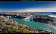 American Falls on Christmas Eve 2015 - Niagara Falls (episa) Tags: panorama ontario canada niagarafalls tripod aerialview stitching skylontower sonya7rii december242015
