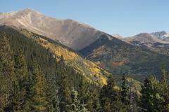 Monarch Pass fall colors (Jeff Mitton) Tags: fall autumn fallcolors autumncolors mountains colorado earthnaturelife wondersofnature