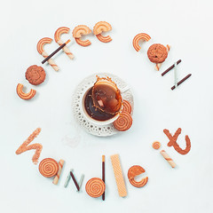Coffee solves everything (Dina Belenko) Tags: coffee tea teatime food drink cookie biscuit buttercookie cracker snack sweet break enjoy stilllife breakfast morning light pastry baking highangle fromabove topview flatlay text lettering inscription letter motto white pattern curve geometry coffeebeans rye oatmeal variety splash motion action hightspeed drop sugar inspiration motivation square chocolatestick waferstraw khabarovsk khabarovskterritory russia