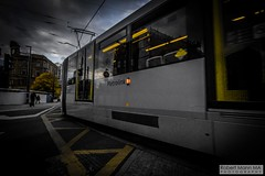 ManchesterVictoria2016.10.09-19 (Robert Mann MA Photography) Tags: manchester manchestervictoria manchestercitycentre greatermanchester england victoria victoriastation manchestervictoriastation manchestervictoriarailstation victoriarailstation city cities citycentre architecture summer 2016 sunday 9thoctober2016 manchestermetrolink metrolink trams tram nightscape nightscapes night light lighttrails