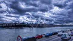 Dark blue (AlexDemko) Tags: blue darkblue budapest lg lgcamera river sea sky bluesky beautiful mobile mostbeautifulpictures