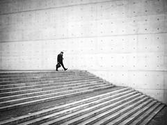 Big Step (ffela) Tags: berlin bigstep blackwhite streetphotography deutschland explored