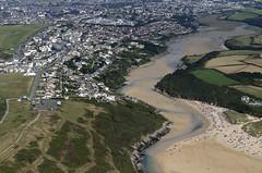 Pentire & Gannel estuary (John D F) Tags: crantockbeach gannel river estuary cornwall coast coastline beach aerial aerialphotography portisaac aerialimage aerialphotograph aerialimagesuk aerialview