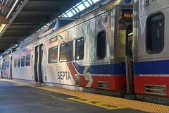 Silverliner V's at 30th Street (jayayess1190) Tags: septa philadelphia pennsylvania city urban masstransit publictransportation train railroad 30thstreetstation silverlinerv trainstation