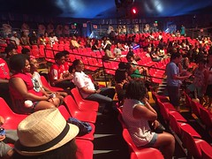 TFE attends the Universe Soul Circus!