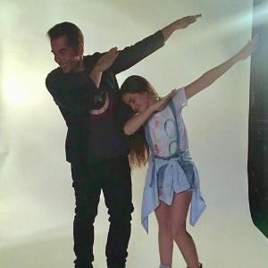 Leandro Hassum grava com Mel Maia novo programa da Globo