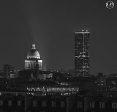 le pantheon (apparencephotos) Tags: paris noiretblanc nb blackandwhite pantheon montparnasse tower