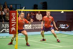 NBLmatch-5100-0285 (University of Derby) Tags: 5100 badminton nbl sportscentre universityofderby match