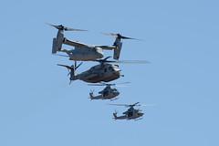 MAGTF (linda m bell) Tags: mcas miramar airshow 2016 california aircraft socal magtf demo mv22 osprey ch53e superstallion uh1y venom