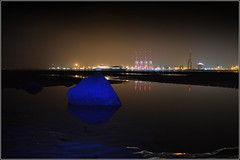 Liverpool Two Deep Water Container Terminal 30th October 2016 (Cassini2008) Tags: newbrighton wirral liverpool liverpooltwodeepwatercontainerterminal portofliverpool rivermersey reflections peelports