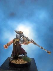 Painted I-Kore Celtos Miniature Gonor Spearman Champion. (Painted Miniatures) Tags: painted ikore celtos miniature gonor spearman champion
