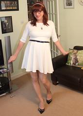Too short? (kirsten jones) Tags: tg crossdresser crossdressermtf maletofemale transgender mtf transgendered transvestite ts tv tgirl