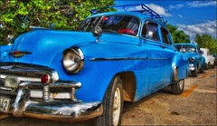 7105-  TRUE GRIT, Cuban Style (canuckguyinadarkroom) Tags: cuba cars chevrolet