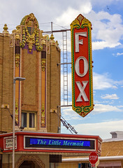 North Platte's Fox Theatre (Eridony) Tags: northplatte lincolncounty nebraska downtown theater theatre constructed1929 historic nrhp nationalregisterofhistoricplaces sign