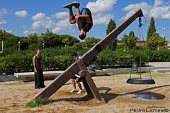 Parkour (P.Larrea) Tags: parkour barcelona vida estilo jumping