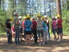 Education and training for adventure parks, ropes-courses and outdoor leisure #15567 #safety http://j.mp/2bQ88Op (Skywalker Adventure Builders) Tags: high ropes course zipline zipwire construction design klimpark klimbos hochseilgarten waldseilpark skywalker