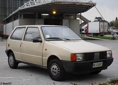 1985 Fiat Uno 45 (Alessio3373) Tags: autoshite youngtimers oldcars fiat fiatuno fiatuno45 uno45