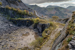 Dali's Hole, Dinorwig Quarry (PSHiggins) Tags: dali hole snowdon snowdonia quarry slate dinorwig llanberis d600 d610 fx full frame fullframe