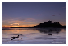 Dawn at Bamburgh Beach (Blondie606 Photography) Tags: bamburghcastle sunrise sunset northumberland beach sea steetlypier longexposure lighhouse newcastlequay pastel frosty golden boats chemicalbeach seaham hartlepool