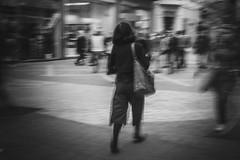 Vogue on the street (Mirslav Hristff) Tags: vogue street streetphotography plovdiv bulgaria postcommunism sony slt 35mm blackwhite bw blackandwhite woman onthestreet candid fashion editorial streetstyle style stylish