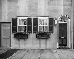 95 (John Getchel Photography) Tags: charleston southcarolina aged blackandwhite cracked doors texture windows unitedstates us