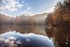 yedigoller deneme 3 (ozancebeci) Tags: nature yedigöller reflection lake autumn leaves natural sky