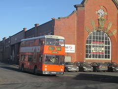 GM Buses 4706 A706LNC Boyle St, Manchester on 330 (1280x960) (dearingbuspix) Tags: preserved greatermanchestertransport greatermanchester gmbuses manchesterchristmascracker manchesterchristmascracker2016 4706 a706lnc museumoftransportgreatermanchester museumoftransport