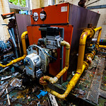 Machinery at Mountain Ash Hospital