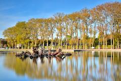 Apollo's chariot in Versailles (Sizun Eye) Tags: apollo chariot gardens versailles fountain chardapollon trees reflections longexposure leefilters leebigstopper nd1000 10fstops sizuneye nikond750 tamron2470mmf28 poselongue fontaine parcdeversailles