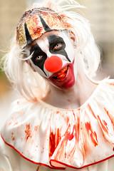 Bloody Clown (k.jessen) Tags: clown palhao zombiewalk zombiewalksp zombiewalksp2016 zombie zumbi blood sangue brains miolos saopaulo sopaulo brasil brazil