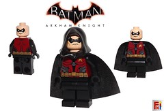 Robin - Batman Arkham Knight (Fig-Nation) Tags: lego custom batman arkham asylum city origins knight printed pad digital robin knightwing ebay