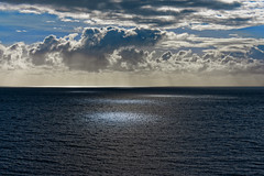 Ocean spotlights (Myrialejean) Tags: australia cairns ocean sea water waves clouds spotlight spot glow lights calm sky blue outdoors horizon empty stillness tranquil outdoor wave seaside cloud coast bright light contrast coral