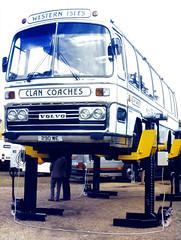 Slide 083-50 (Steve Guess) Tags: london england gb uk brentford twickenham syon park 290we plaxton volvo lifts clan coaches