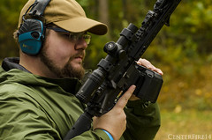 The Gun Collective (CenterFire14) Tags: 2a evil scary black full auto kdg assault rifle gripstop embrace radius drum notanar15 mlok